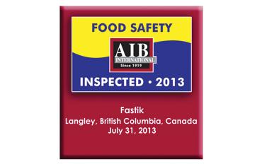 We're Food Safe!