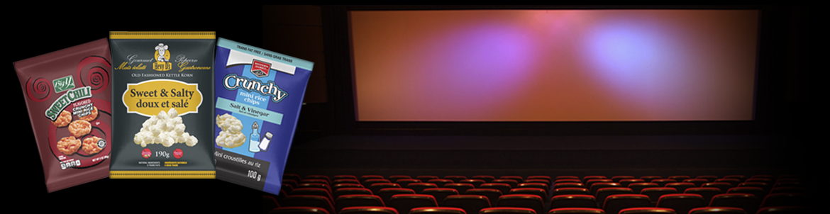 Popcorn theatre background 2